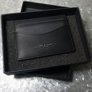 Rag & Bone Women's Hampshire Leather Card Case